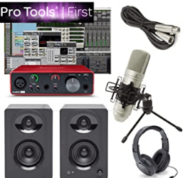 Focusrite Solo Home Recording Studio Bundle