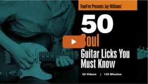 50 Soul Guitar Licks
