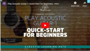 Acoustic Quick Start Guitar