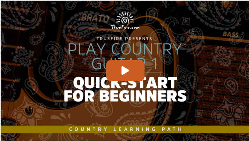 Play Country Guitar Quick Start
